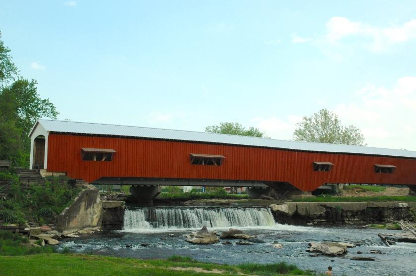 Bridgeton Bridge and Waterfall