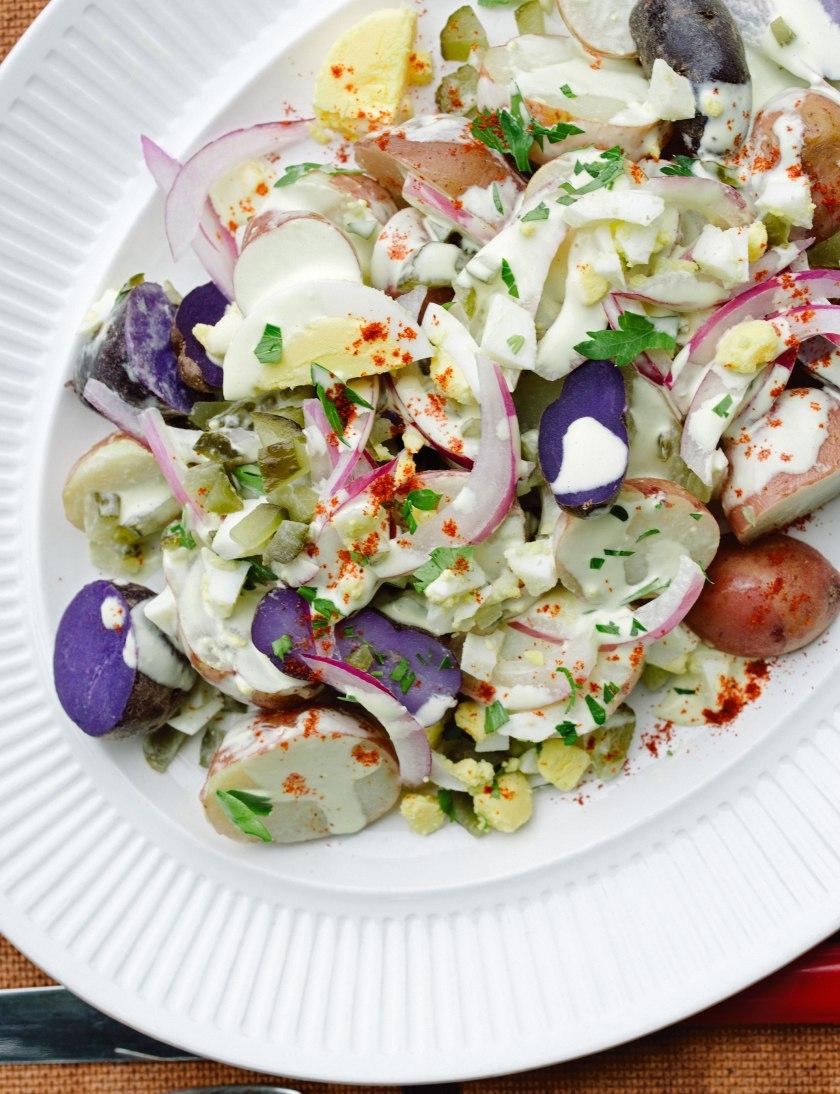Pickle & Potato Salad (c) Rebecca Sanabria