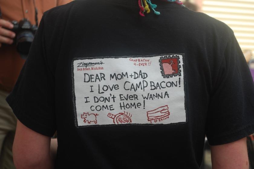 zingerman camp bacon t-shirt