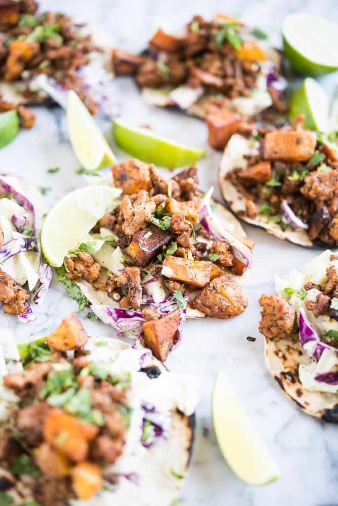 W3 Chorizo and Potato Tacos